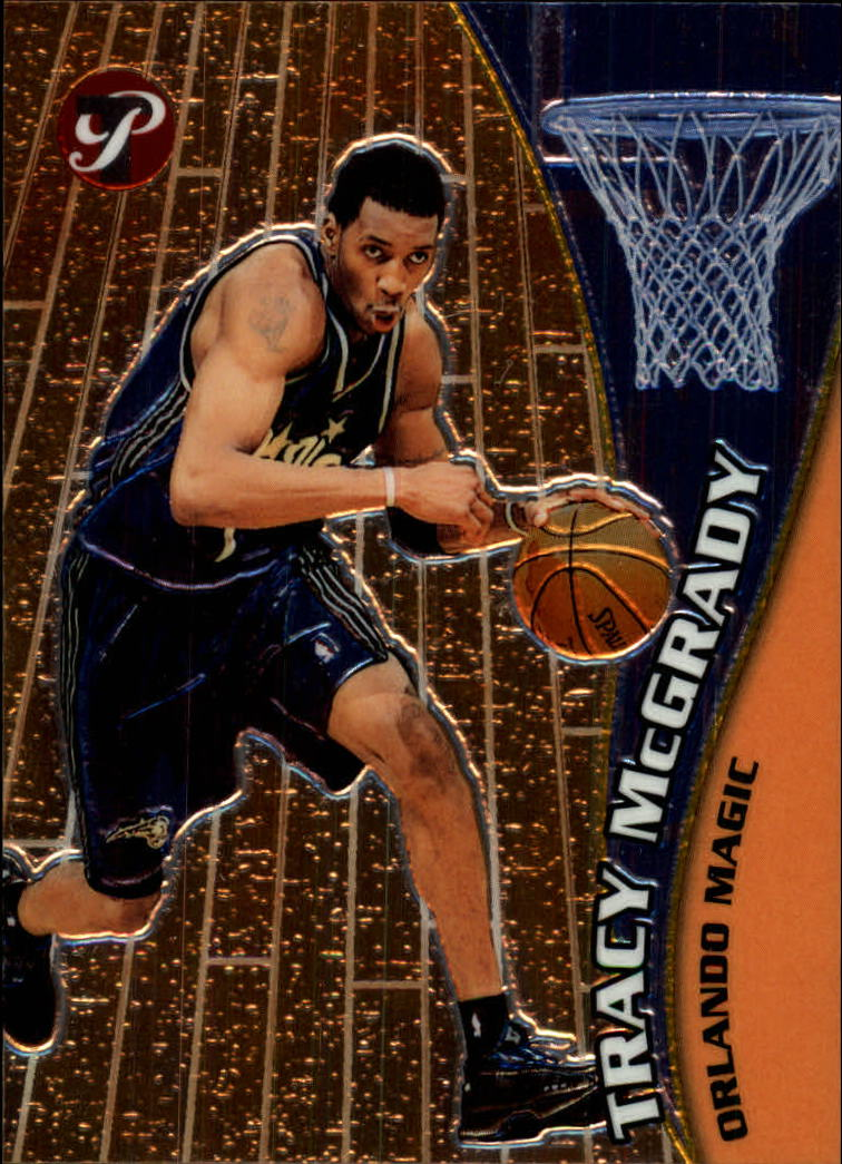 2001-02 Topps Pristine #10 Tracy McGrady