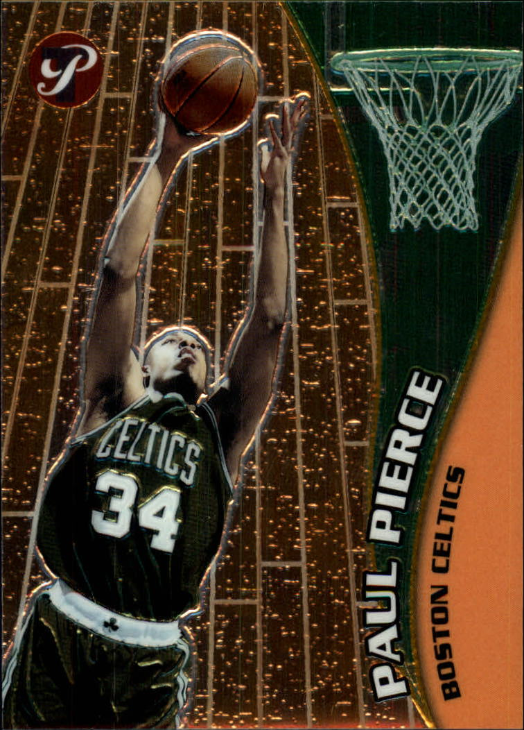 2001-02 Topps Pristine #28 Paul Pierce