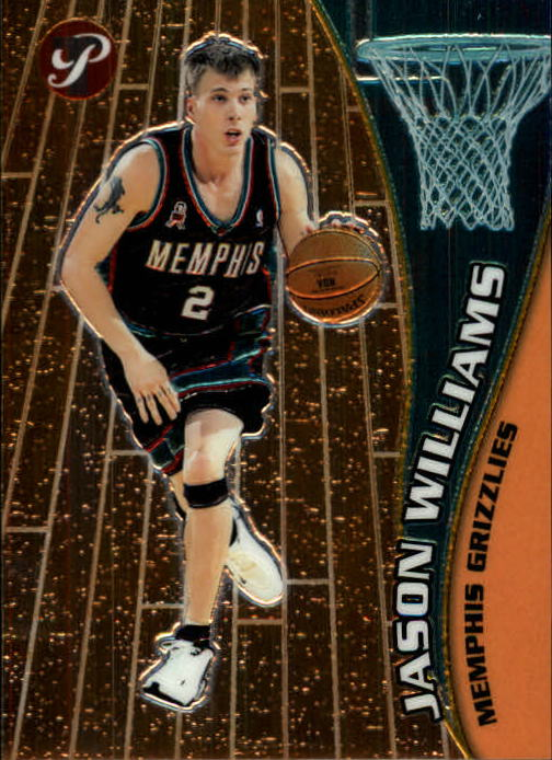 2001-02 Topps Pristine #47 Jason Williams