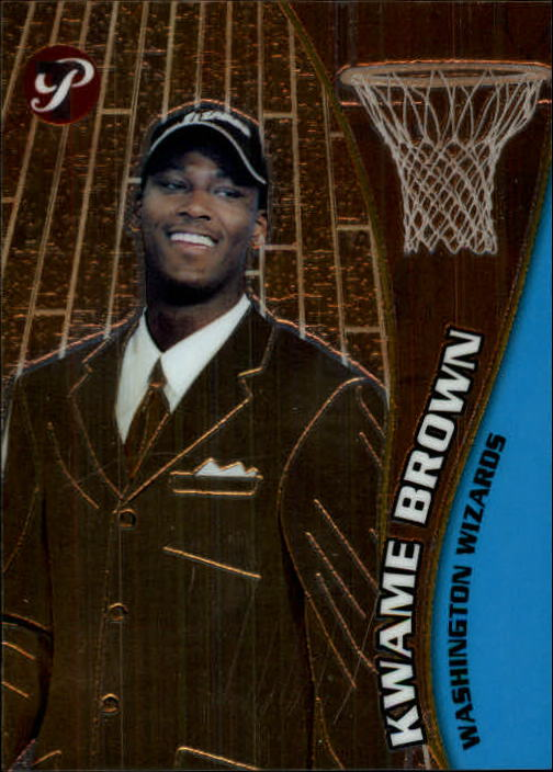 2001-02 Topps Pristine #54 Kwame Brown C RC