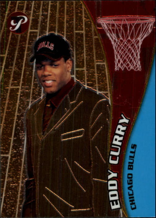 2001-02 Topps Pristine #60 Eddy Curry C RC