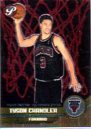 2001-02 Topps Pristine #64 Tyson Chandler U