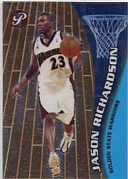 2001-02 Topps Pristine #69 Jason Richardson C RC