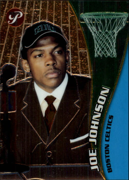 2001-02 Topps Pristine #72 Joe Johnson C RC