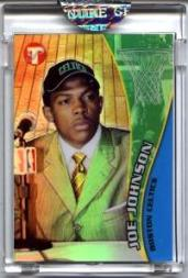 2001-02 Topps Pristine Refractors #72 Joe Johnson
