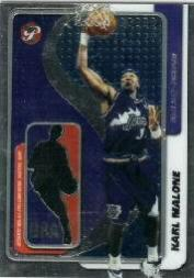 2001-02 Topps Pristine Oversized Relics #BLKM Karl Malone
