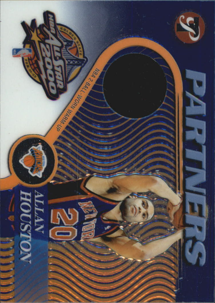 2001-02 Topps Pristine Partners #PAAH Allan Houston