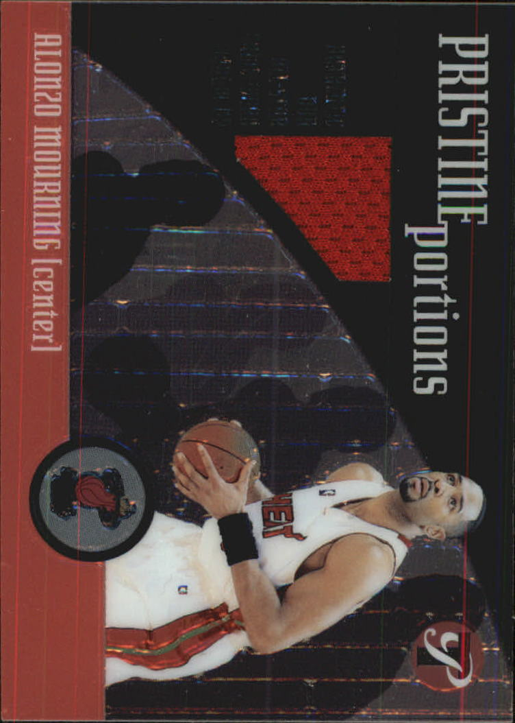 2001-02 Topps Pristine Portions #PPAM Alonzo Mourning