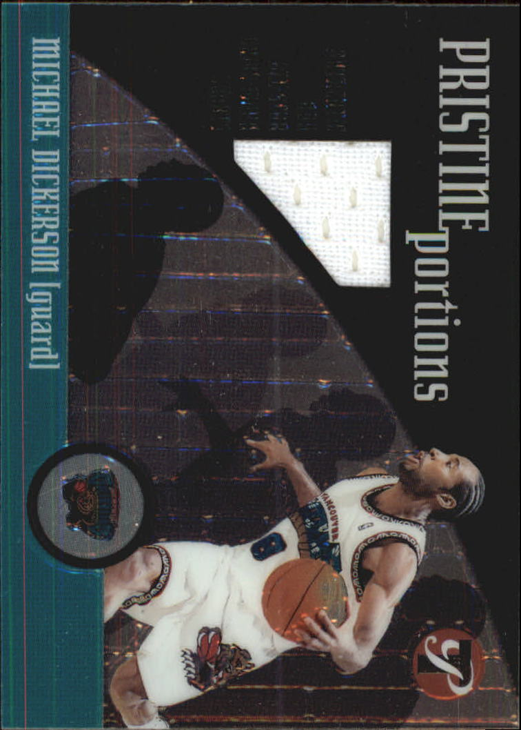 2001-02 Topps Pristine Portions #PPMD Michael Dickerson