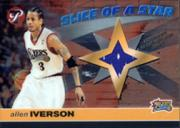 2001-02 Topps Pristine Slice of a Star #SAI Allen Iverson