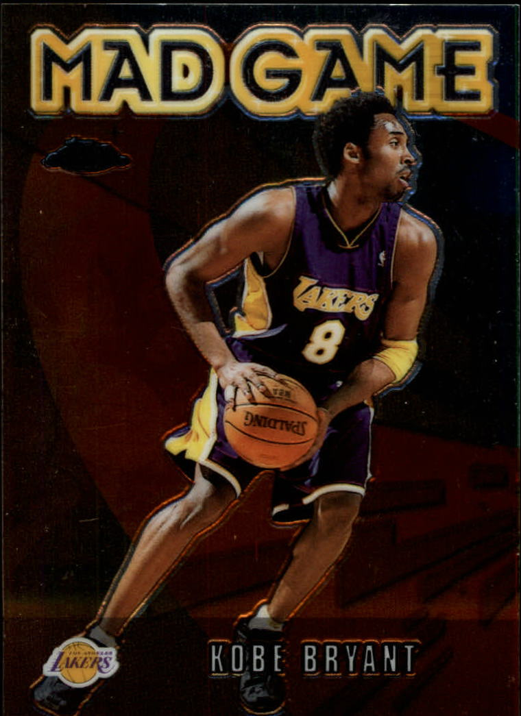 2001-02 Topps Chrome Mad Game #MG6 Kobe Bryant