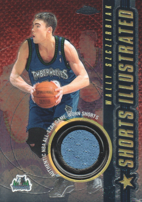 2001-02 Topps Chrome Shorts Illustrated #SIWS Wally Szczerbiak front image
