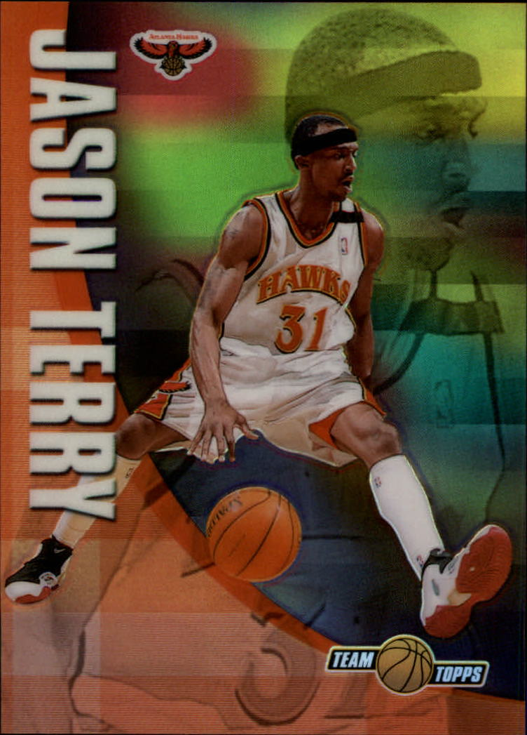 2001-02 Topps Chrome Team Topps Refractors #TT4 Jason Terry