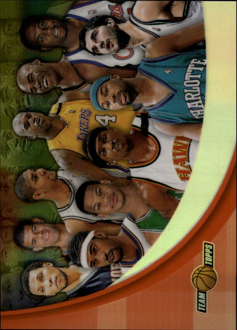 2001-02 Topps Chrome Team Topps Refractors #TT10 Team Photo