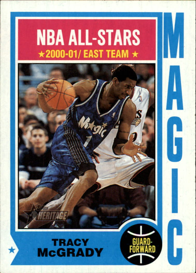 2001-02 Topps Heritage #10 Tracy McGrady