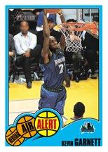 2001-02 Topps Heritage Air Alert #9 Kevin Garnett