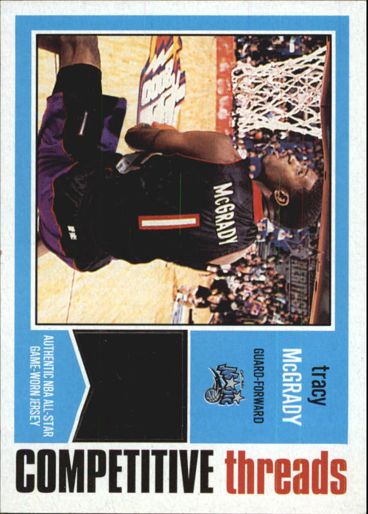 2001-02 Topps Heritage Competitive Threads #14 Tracy McGrady