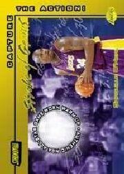 2001-02 Stadium Club Stroke of Genius #SGSO Shaquille O'Neal