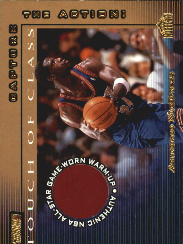 2001-02 Stadium Club Touch of Class #TCAFM Antonio McDyess