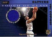 2001-02 Stadium Club Touch of Class #TCDN Dirk Nowitzki