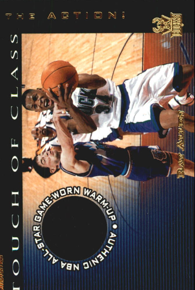 2001-02 Stadium Club Touch of Class #TCRA Ray Allen