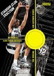 2001-02 Stadium Club Traction #TTD Tim Duncan