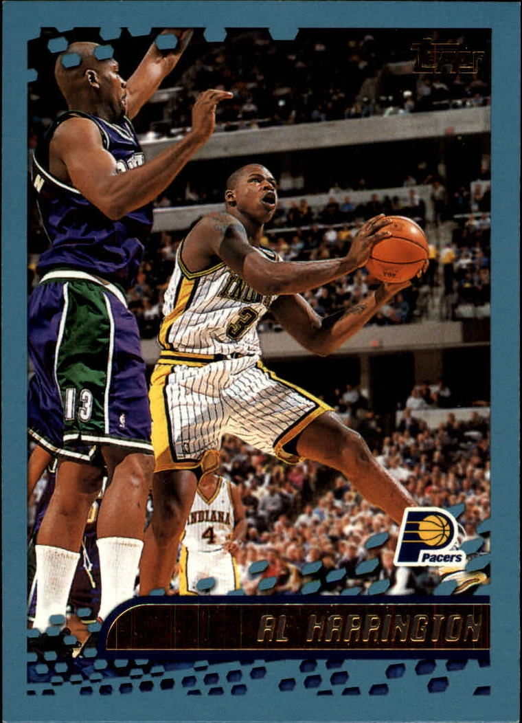 2001-02 Topps #188 Al Harrington