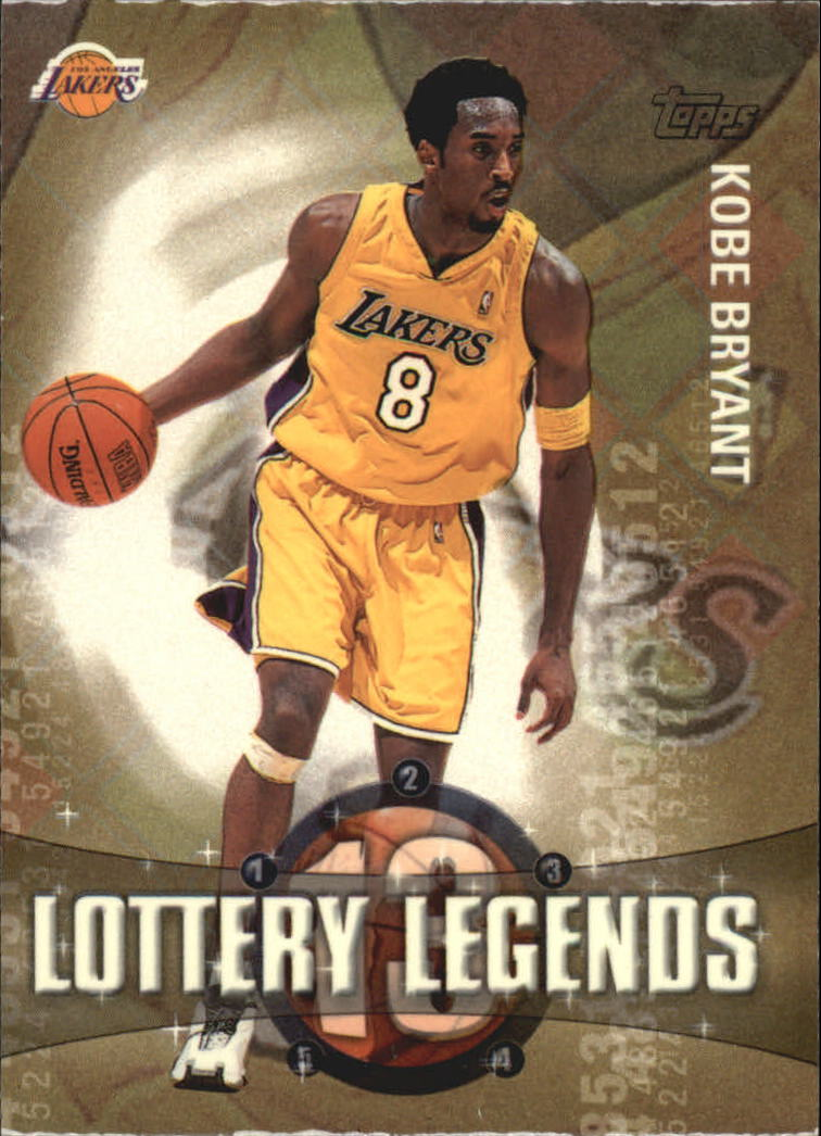 2001-02 Topps Lottery Legends #LL13 Kobe Bryant