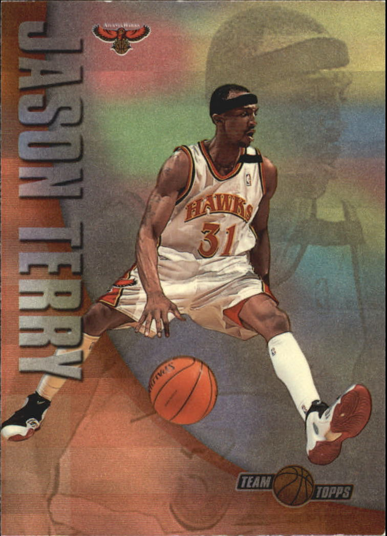 2001-02 Topps Team Topps #TT4 Jason Terry