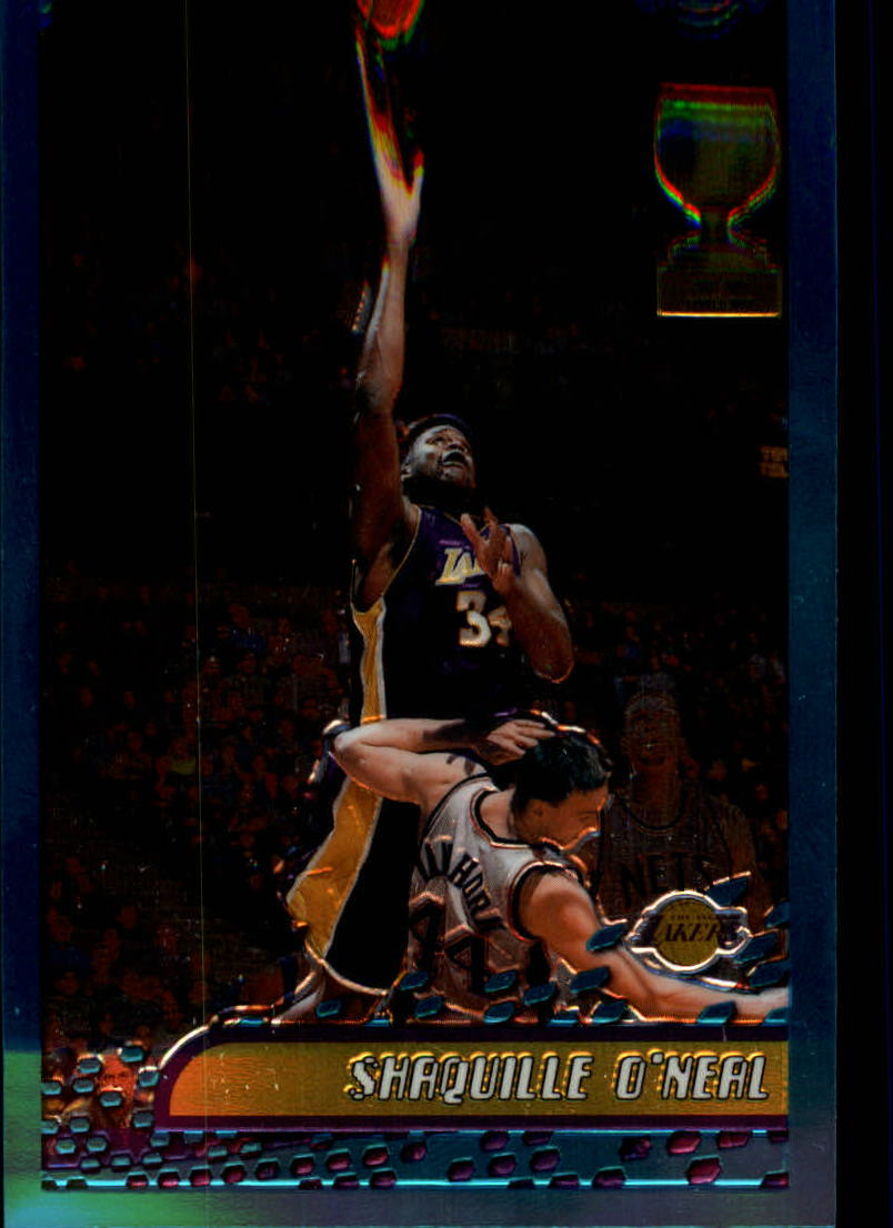 2001-02 Topps Chrome #1 Shaquille O'Neal