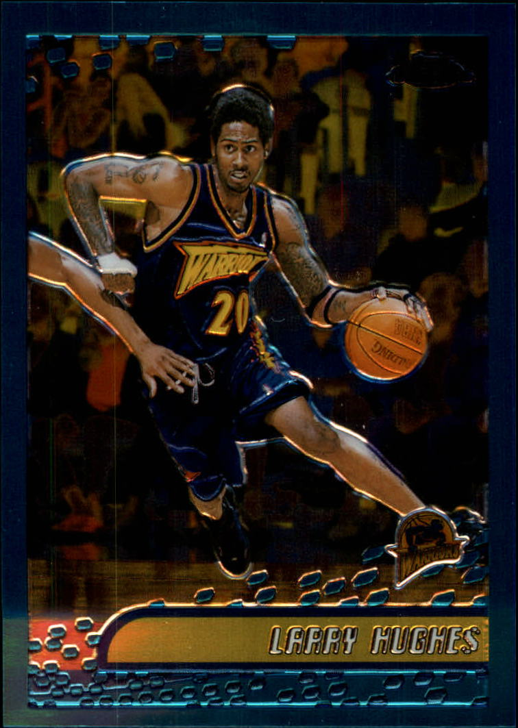 2001-02 Topps Chrome #23 Larry Hughes