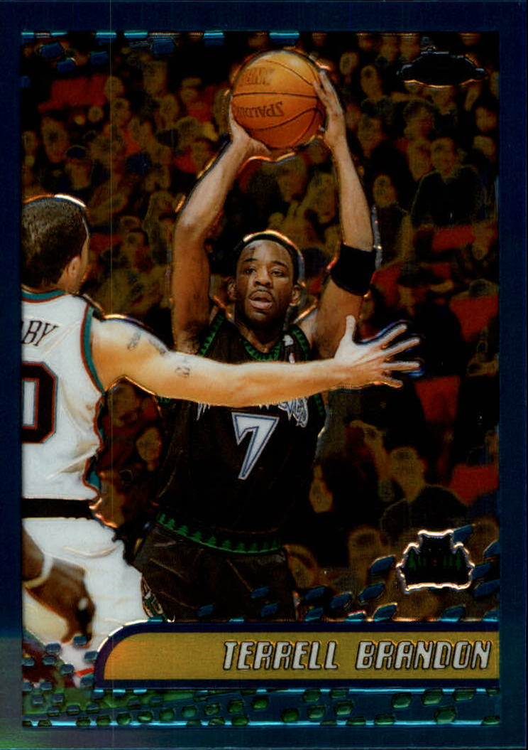 2001-02 Topps Chrome #26 Terrell Brandon