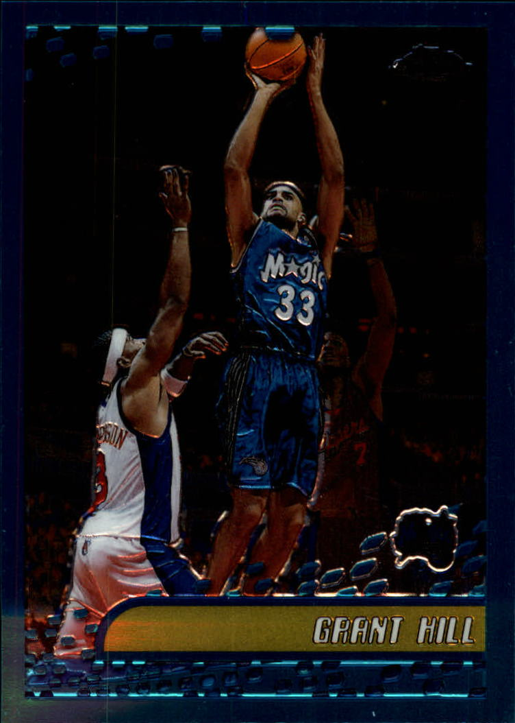 2001-02 Topps Chrome #77 Grant Hill