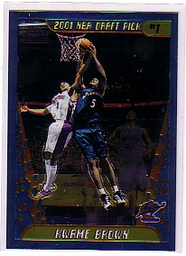 2001-02 Topps Chrome #165 Kwame Brown RC