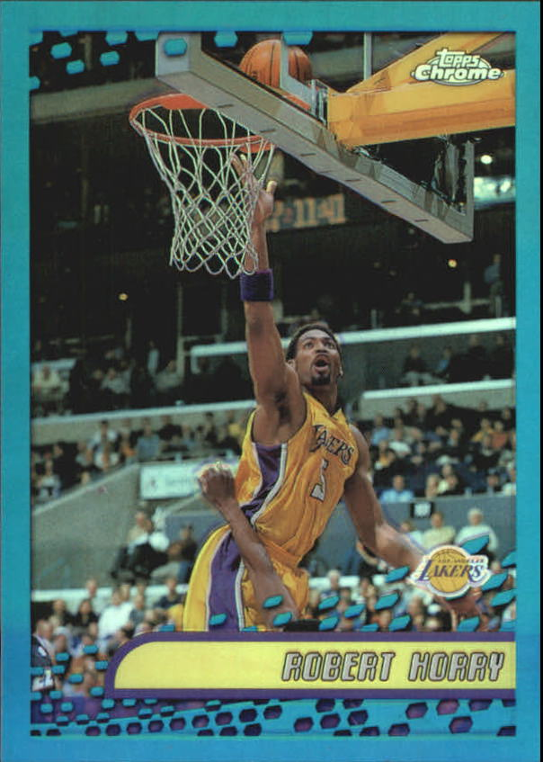2001-02 Topps Chrome Refractors #58 Robert Horry