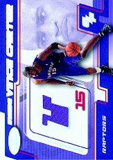 2001-02 Hoops Hot Prospects Inside Vince Carter #2 Vince Carter JSY R/900