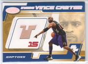 2001-02 Hoops Hot Prospects Inside Vince Carter #5 Vince Carter HS FLOOR/600