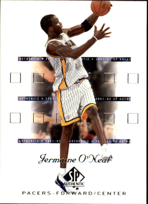 2001-02 SP Authentic #33 Jermaine O'Neal