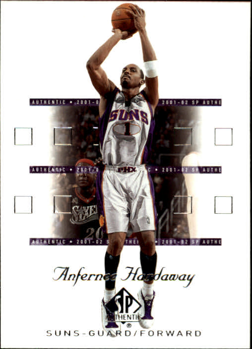 2001-02 SP Authentic #69 Anfernee Hardaway