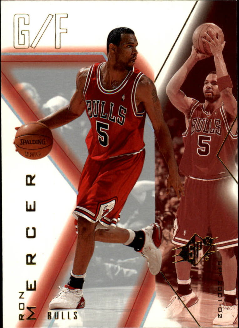 2001-02 SPx #10 Ron Mercer