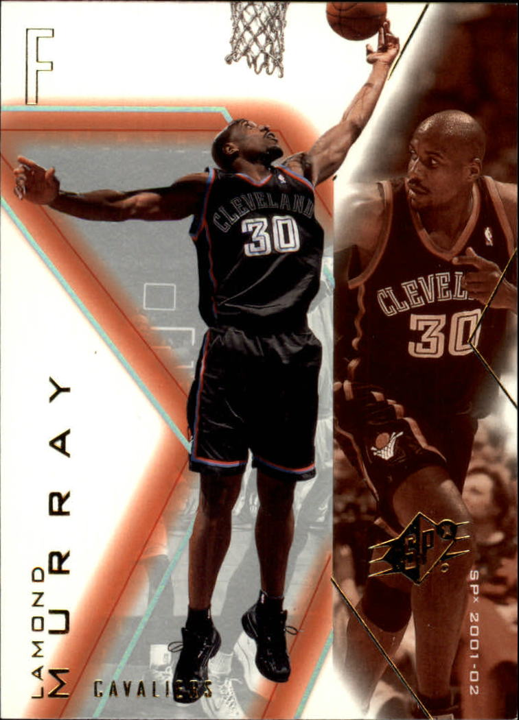 2001-02 SPx #14 Lamond Murray