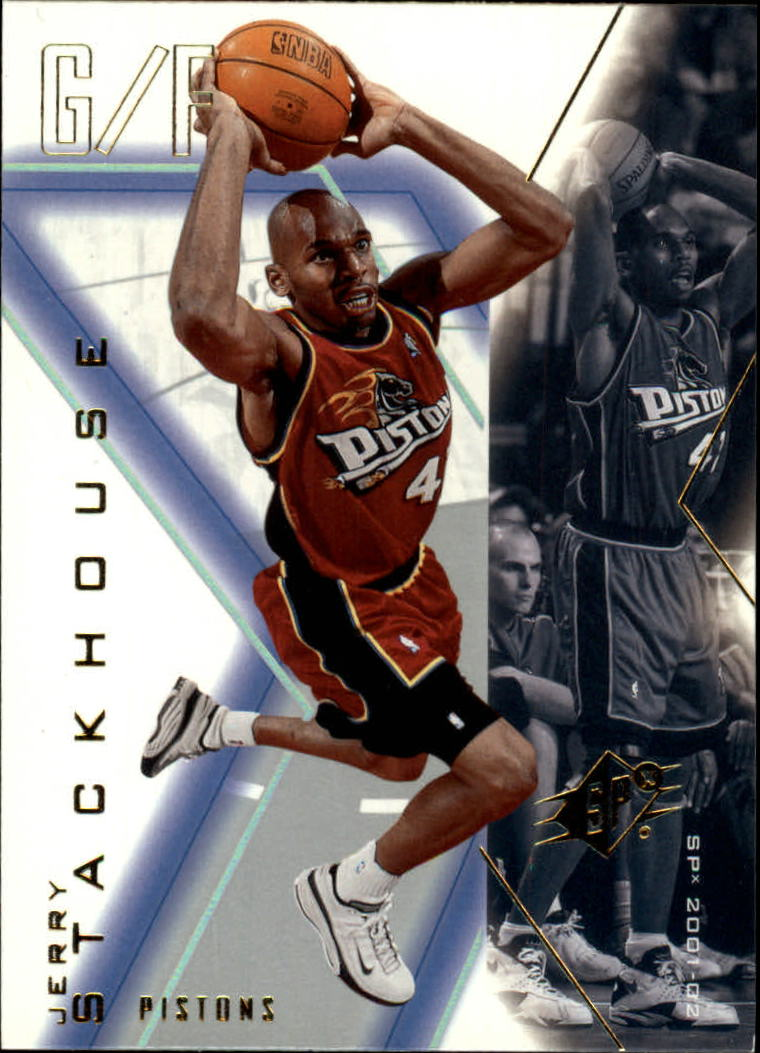 2001-02 SPx #22 Jerry Stackhouse