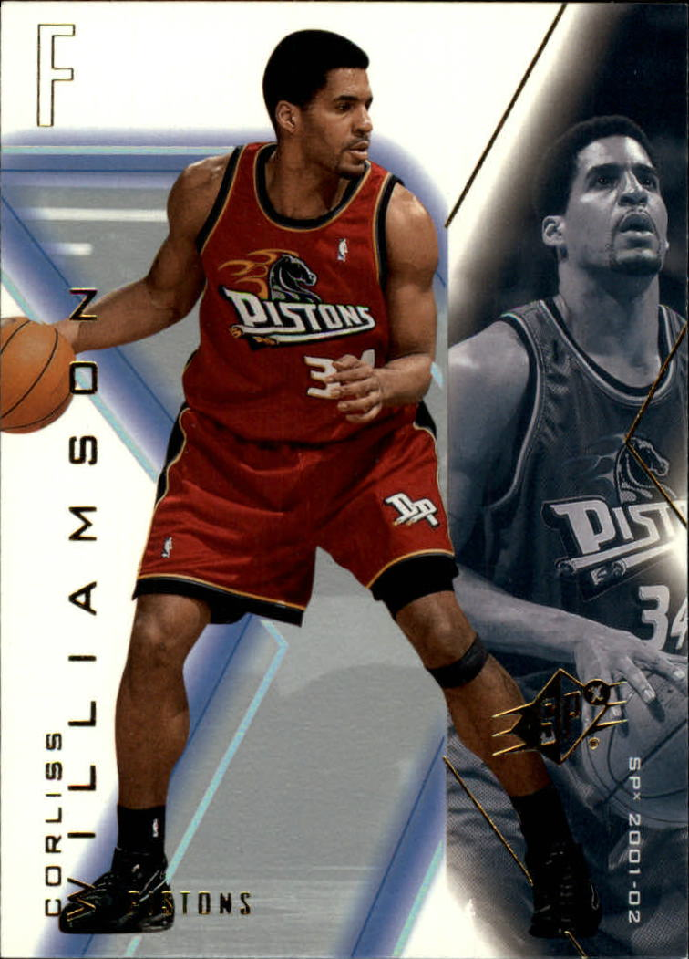 2001-02 SPx #24 Corliss Williamson