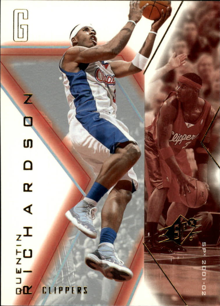 2001-02 SPx #37 Quentin Richardson