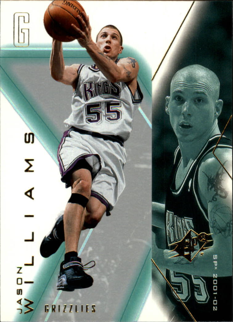 2001-02 SPx #43 Jason Williams