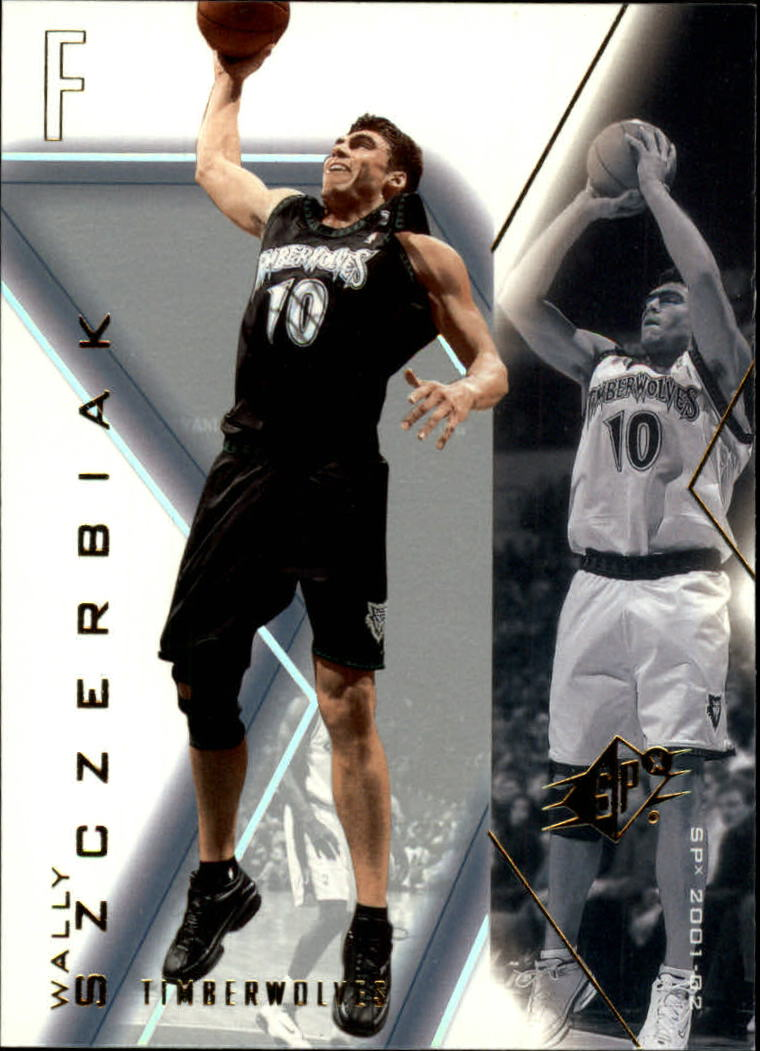 2001-02 SPx #52 Wally Szczerbiak