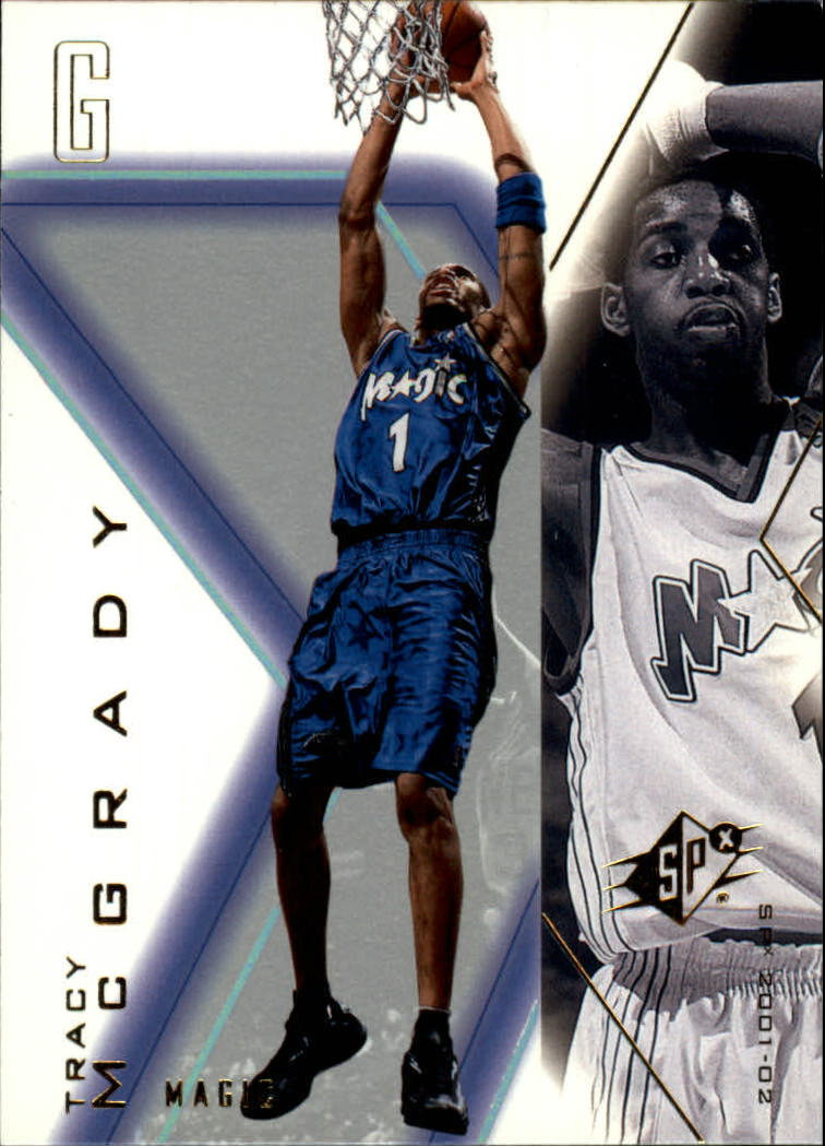 2001-02 SPx #61 Tracy McGrady