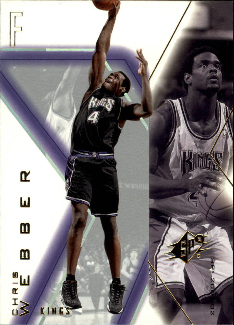 2001-02 SPx #73 Chris Webber