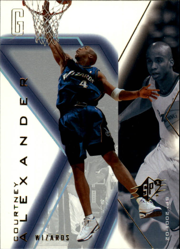 2001-02 SPx #89 Courtney Alexander