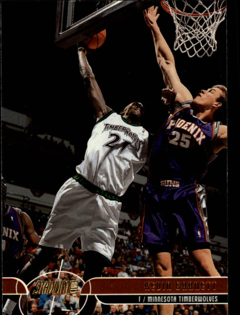 2001-02 Stadium Club #21 Kevin Garnett